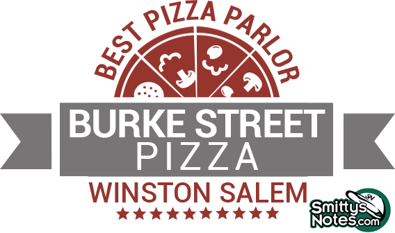 Pizza Delivery in Winston Salem and Greensboro Burke Street Pizza Best Pizza Parlor Burke Street Pizza Winston Salem
